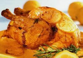 Pollo asado al limon