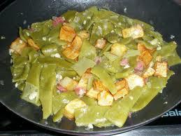 Judias verdes con jamon