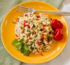 Arroz de verduras al horno