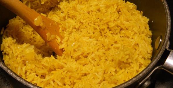 receta facil arroz al curry