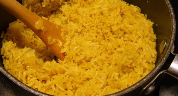 Arroz al curry